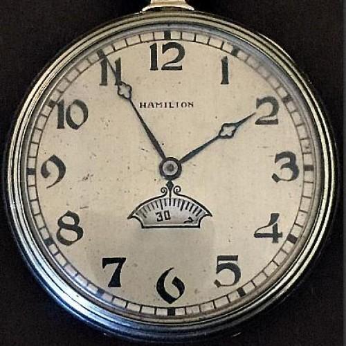 Hamilton Grade 912 Pocket Watch Image
