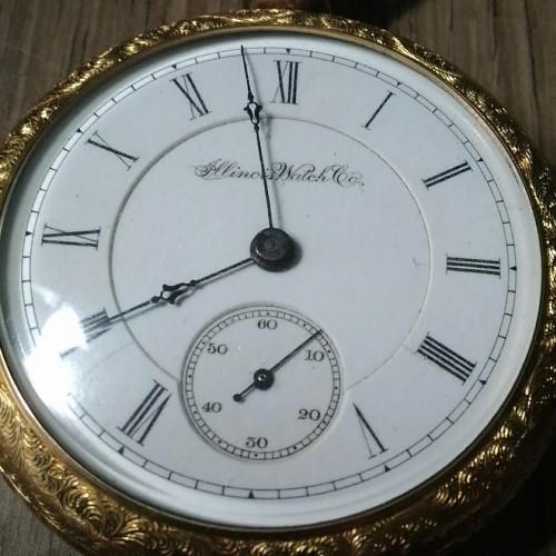 Illinois Grade 100 Pocket Watch Image