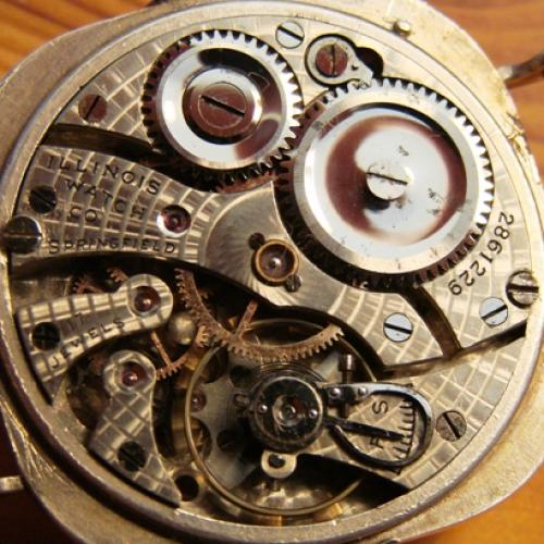 Illinois Grade 24 Pocket Watch Image