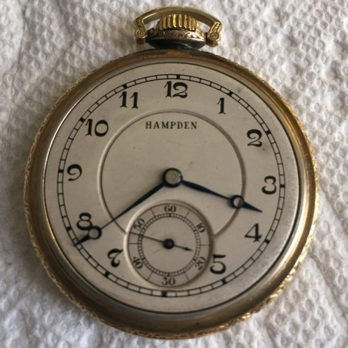 Hampden Grade No. 700 Pocket Watch Image