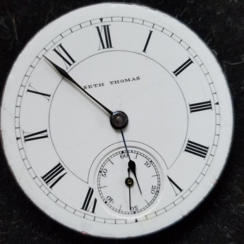 Seth Thomas Grade 33 Pocket Watch Image