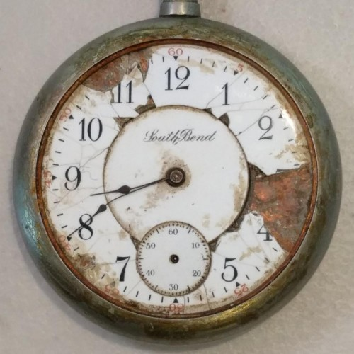 South Bend Grade 207 Pocket Watch Image
