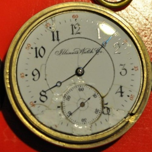 Illinois Grade 175 Pocket Watch Image