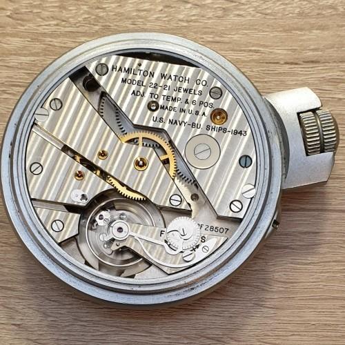Hamilton Grade Model 22 Pocket Watch Image