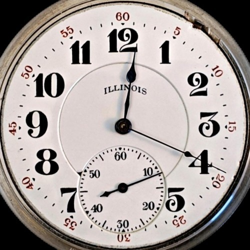 Illinois Grade 801 Pocket Watch Image