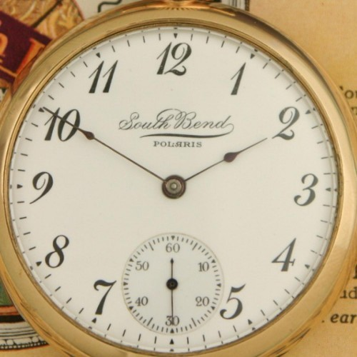 South Bend Grade 295 Pocket Watch Image