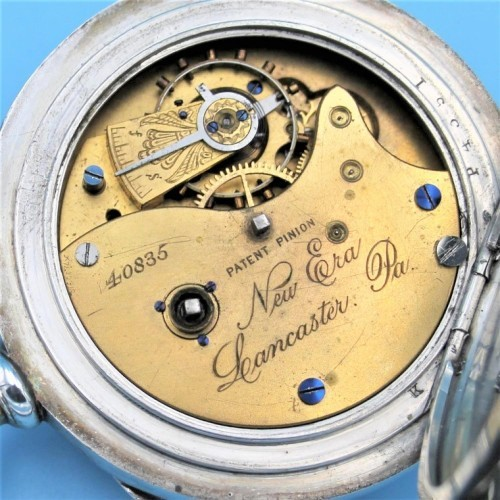 Lancaster Watch Co. Grade New Era Pocket Watch Image