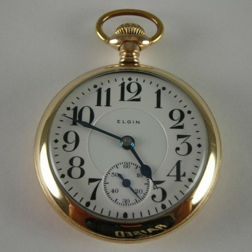 Elgin Grade 389 Pocket Watch Image
