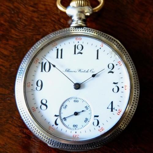 Illinois Grade 172 Pocket Watch Image