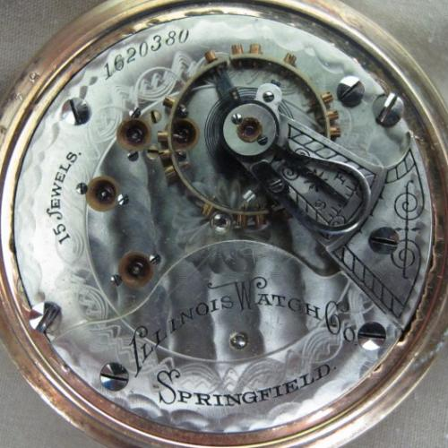 Illinois Grade 51 Pocket Watch Image