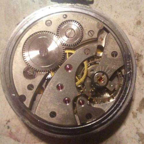 Waltham Grade Boston W. Co. Pocket Watch Image