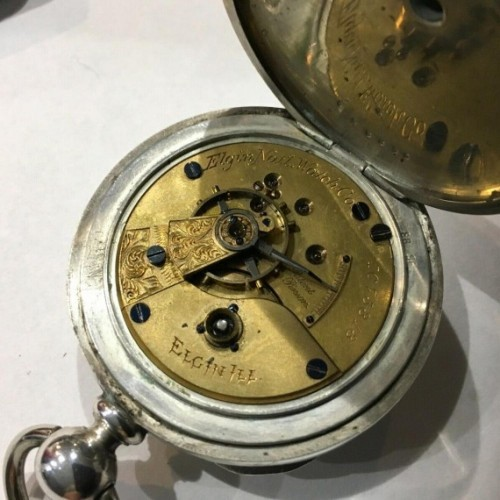 elgin wrist watches value by serial number