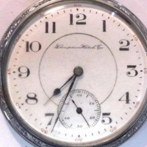 Hampden Grade No. 107 Pocket Watch Image