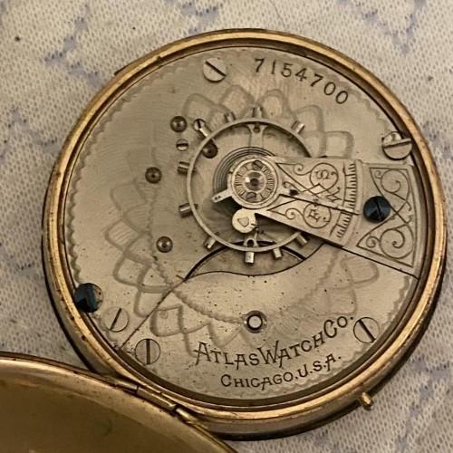 Elgin Grade 179 Pocket Watch Image
