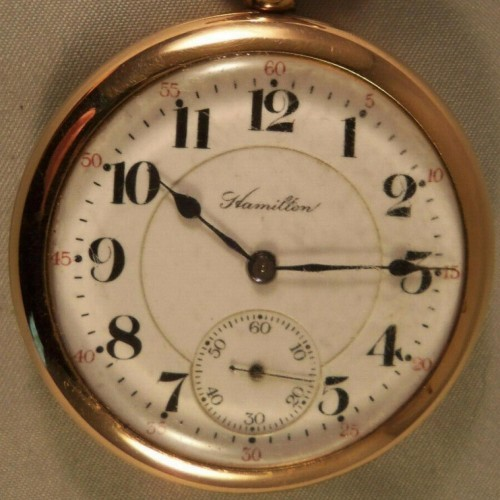 Hamilton Grade 972 Pocket Watch