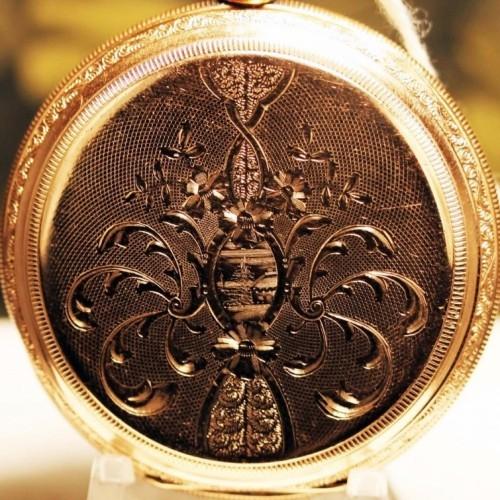 Elgin Grade 382 Pocket Watch Image