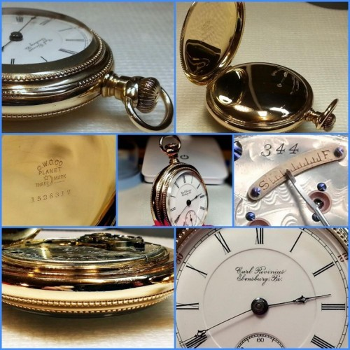 Hamilton Grade 932 Pocket Watch Image