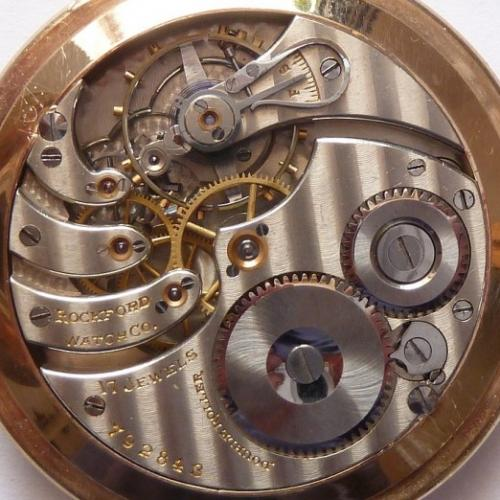 Rockford Grade 335 Pocket Watch Image