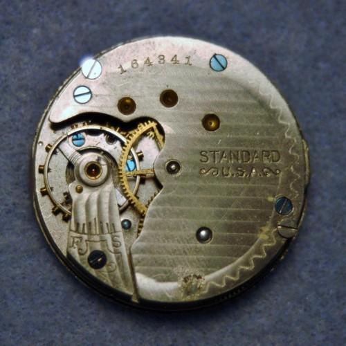 New York Standard Watch Co. Grade Standard Pocket Watch Image