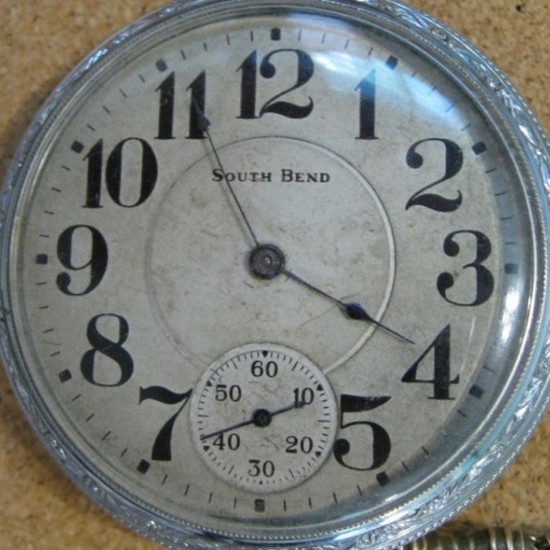 South Bend Grade 212 Pocket Watch Image