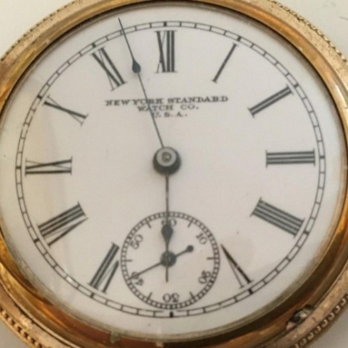 New York Standard Watch Co. Grade 144 Pocket Watch Image