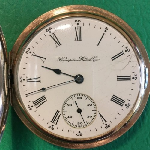 Hampden Grade No. 440 Pocket Watch
