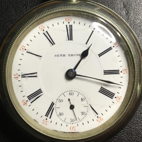 Seth Thomas Grade 206 Pocket Watch Image