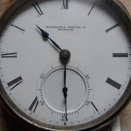 Tremont Watch Co. Grade  Pocket Watch Image