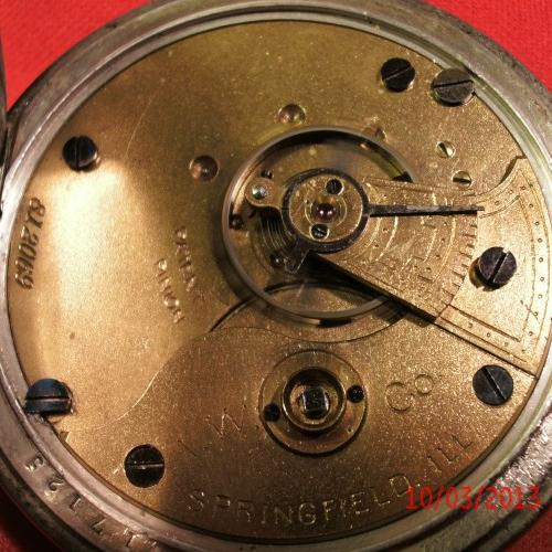 Illinois Grade I.W.C. Pocket Watch Image