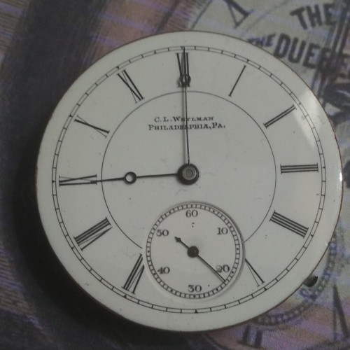 Illinois Grade 114 Pocket Watch Image