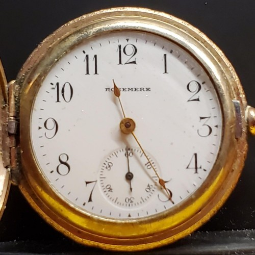 New York Standard Watch Co. Grade Trading Watch Pocket Watch Image