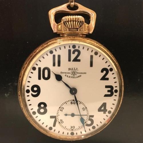 Ball - Hamilton Grade 999P Pocket Watch Image