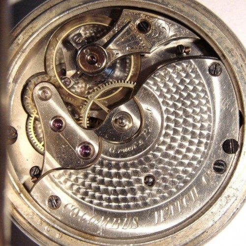 Image of Columbus Watch Co. Unknown #4246 Movement