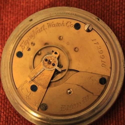 Elgin Grade 6 Pocket Watch