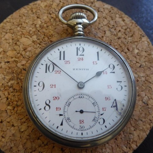 Zenith Grade  Pocket Watch Image