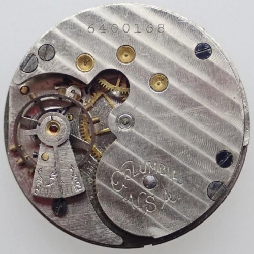 Image of Columbia Watch Co.  #6400168 Movement