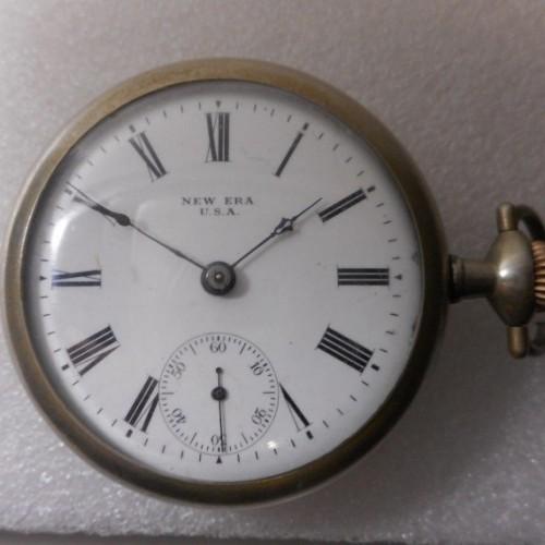 New York Standard Watch Co. Grade  Pocket Watch Image