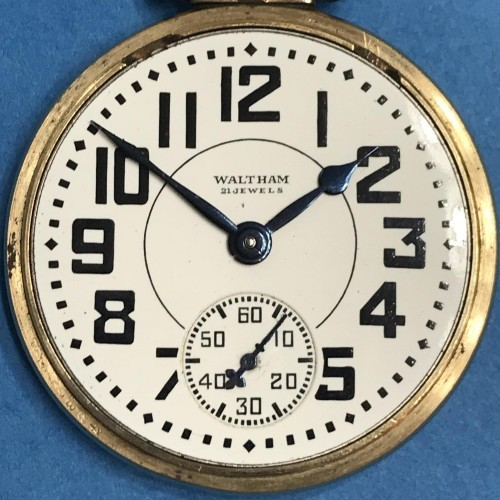 Waltham Grade No. 1621 Pocket Watch Image