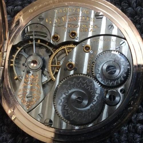 Elgin Grade 346 Pocket Watch