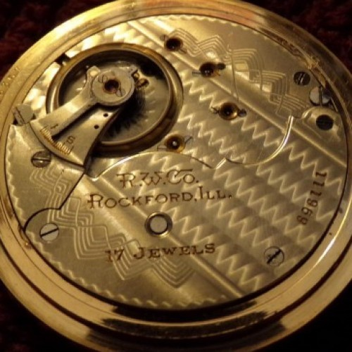 Rockford Grade 838 Pocket Watch Image