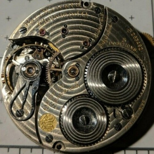 Image of Ball - Waltham Official Standard #B263482 Movement