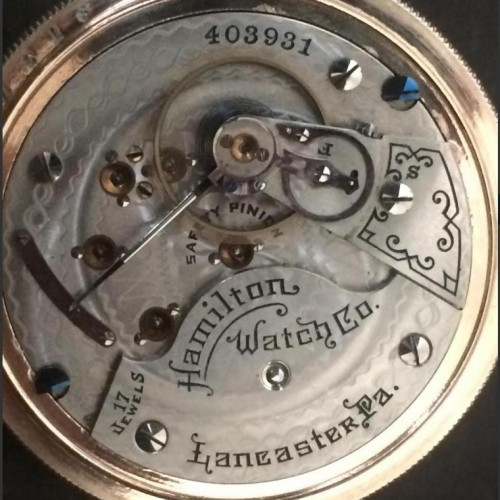 Image of Hamilton 924 #403931 Movement