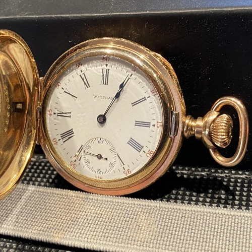 Waltham Grade Seaside Pocket Watch Image