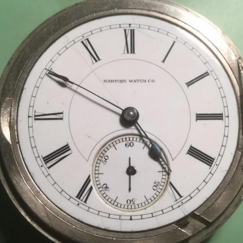 Hampden Grade No. 45 Pocket Watch Image