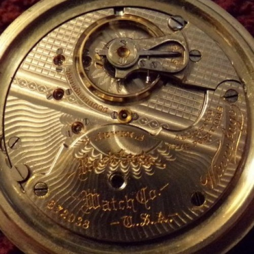 Rockford Grade 205 Pocket Watch Image