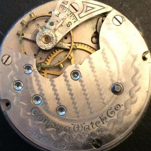 Corona Watch Co. Grade  Pocket Watch Image
