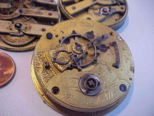 Rockford Grade 11 Jewels Pocket Watch Image