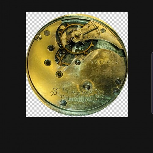 New York Standard Watch Co. Grade 61 Pocket Watch Image