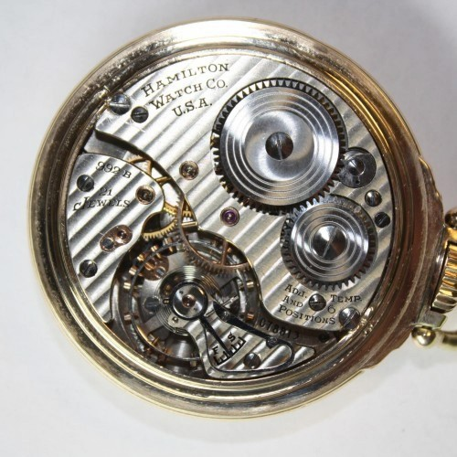 Image of Hamilton 992B #C78813 Movement