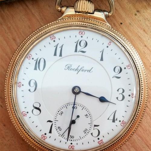 4b3f9b56f29b4 Rockford Watch Co. Watches Photo Gallery | Pocket Watch Database